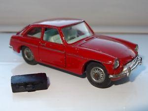 【送料無料】模型車 モデルカー スポーツカー w corgi mgbgt 327