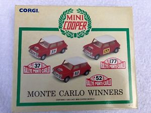 【送料無料】模型車 モデルカー スポーツカー コーギーミニセットモンテカルロモデルcorgi mini set 97712 limited edition monte carlo winners 3 model car set