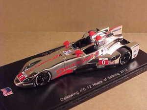 【送料無料】模型車 モデルカー スポーツカー スパークデルタセブリングspark us005 143 resin deltawing, 2013 sebring 12 hours, 0, limited ed