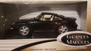 【送料無料】模型車 モデルカー スポーツカー ポルシェターボマルケスモデルハード118 porsche 911 turbo grandes marques rare now hard to find this model