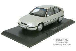 【送料無料】模型車 モデルカー スポーツカー オペルシルバーopel kadett gsi baujahr 1987 silber 118 norev 183613