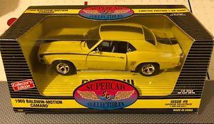 【送料無料】模型車 モデルカー スポーツカー アメリカカマロボールドウィンモーション#ertl american muscle 118 1969 baldwin motion camaro issue 9 limited edition