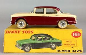 【送料無料】模型車 モデルカー スポーツカー ハンバーホークビンテージトーンコレクタモデルカーボックスdinky toys humber hawk 165 vintage 2tone collectors model car boxed