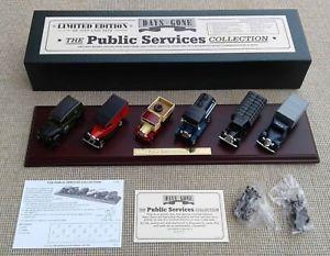 【送料無料】模型車 モデルカー スポーツカー サービスコレクションthe public services collection ps1006 lledo plc  ltd edn amp; coa boxed