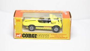 【送料無料】模型車 モデルカー スポーツカー コーギーオリジナルボックスラナバウトバルケッタミントビンテージオリジナルneues angebotcorgi 386 bertone runabout barchetta in original box nr mint vintage ori