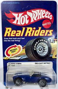 【送料無料】模型車 モデルカー スポーツカー ホットホイールクラシックコブラリアルライダーhot wheels classic cobra real riders