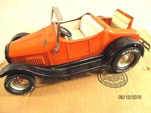 【送料無料】模型車 モデルカー スポーツカー フォードロードスターランブルシートオレンジアンプ