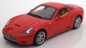 【送料無料】模型車 モデルカー スポーツカー ホットホイールフェラーリカリフォルニア118 hot wheels ferrari california with removable hardtop red