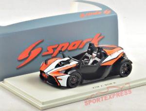 【送料無料】模型車 モデルカー スポーツカー スパークボウグアテマラ 143 spark s5661 ktm xbow gt, 2016