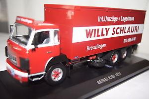 【送料無料】模型車 モデルカー スポーツカー ウィリーネットワークsaurer d290 1978 willy schlauri 143 ixo neu amp; ovp tru006