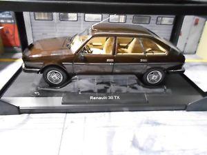 【送料無料】模型車 モデルカー スポーツカー ルノーリムジンブロンズブラウンダイカストrenault 30 tx limousine 1981 bronze brown met diecast neu norev 118
