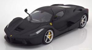 【送料無料】模型車 モデルカー スポーツカー ホットホイールフェラーリフェラーリフラットブラック