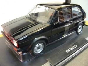 【送料無料】模型車 モデルカー スポーツカー ゴルフブラック118 norev vw golf i gti 1976 schwarz 188487