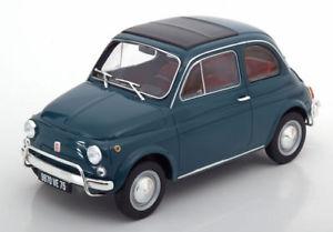 【送料無料】模型車 モデルカー スポーツカー フィアットダークターコイズ118 norev fiat 500 l 1968 darkturquoise