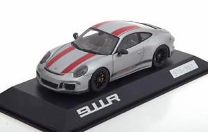 【送料無料】模型車 モデルカー スポーツカー スパークポルシェシルバーレッドスペシャルエディション143 spark porsche 911 991ii r silverred special edition