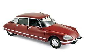【送料無料】模型車 モデルカー スポーツカー シトロエンパラスcitroen ds 23 pallas 1973 rot 118 norev neu amp; ovp 181568