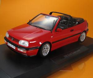 【送料無料】模型車 モデルカー スポーツカー フォルクスワーゲンフォルクスワーゲンゴルフカブリオレモデルスケールnorev 188433 volkswagen vw golf iii cabriolet baujahr 1995 rot scale 1 18
