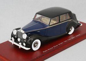 【送料無料】模型車 モデルカー スポーツカー ロールスロイスシルバーパークサロンスケールrolls royce silver wraith 1952 park ward saloon truescale 143