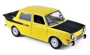 【送料無料】模型車 モデルカー スポーツカー ラリーイエローsimca 1000 rallye 2 1976 gelb 118 norev 185708 neu amp; ovp