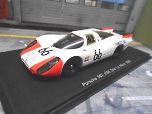 【送料無料】模型車 モデルカー スポーツカー ポルシェレースロングルマン#スパークporsche 907 8 racing lang le mans 1968 spoerry steinemann 66 spark resin 143