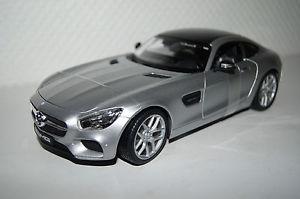 【送料無料】模型車 モデルカー スポーツカー メルセデスシルバーmercedes amg gt silber 118 maisto neu ovp 536204