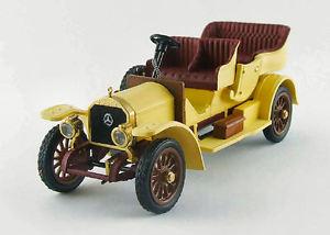 【送料無料】模型車 モデルカー スポーツカー メルセデスイエローモデルリオmercedes tourisme 1909 yellow 143 model rio