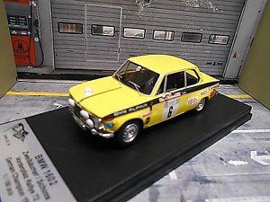 BMW 2002 Ti No.10 Tony Fall//Wood Olympia Rally 1972