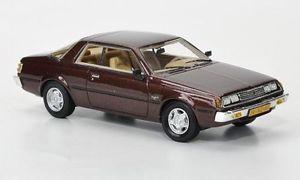 【送料無料】模型車 モデルカー スポーツカー クーペメタリックダークブラウンモデルネオスケールモデルmitsubishi sapporo mki coupe metallic dark brown 143 model neo scale models