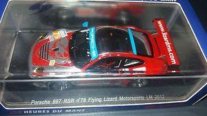 【送料無料】模型車 モデルカー スポーツカー スパークポルシェ#フライングリザードルマンspark 143 porsche 997 rsr 79 flying lizard le mans 2012 s3738