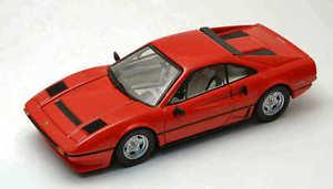 【送料無料】模型車 モデルカー スポーツカー フェラーリターボモデルモデルferrari 208 gtb turbo 1982 red 143 model best models