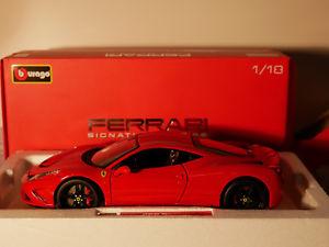 【送料無料】模型車 モデルカー スポーツカー シグネチャーシリーズフェラーリタイプbburago ferrari signature series 458 speciale art1816903 118