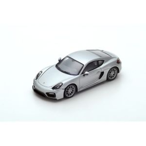 【送料無料】模型車 モデルカー スポーツカー スパークポルシェケイマンシルバーspark porsche cayman gts 2015 silver 143 s4940