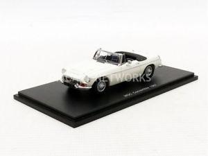 【送料無料】模型車 モデルカー スポーツカー スパークカブリオレspark 143 mg mgc cabriolet 1967 s4143