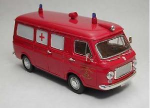 【送料無料】模型車 モデルカー スポーツカー フィアットランツァモデルリオfiat 238 ambulanza vdf vigili dl fuoco 143 model rio