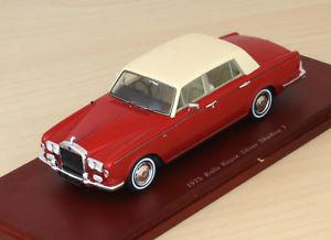 【送料無料】模型車 モデルカー スポーツカー ロールスロイスシルバーシャドウrolls royce silver shadow i 1975 truescale tsm 104328 143