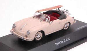 【送料無料】模型車 モデルカー スポーツカー ポルシェカブリオレベージュモデルporsche 356 a cabrio beige 143 model 2569 schuco