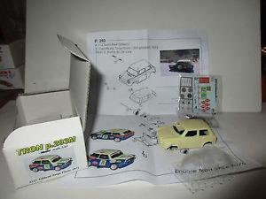 【送料無料】模型車 モデルカー スポーツカー タルガフロリオスポーツチームトロン#autobianchi a112 targa florio 1973 70 equipe tron 143 p293m