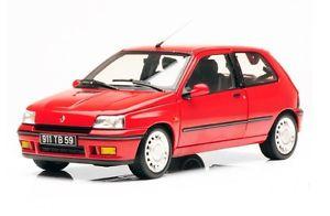 【送料無料】模型車 モデルカー スポーツカー ルノークリオrenault clio 16s red 1991 norev 118 185231