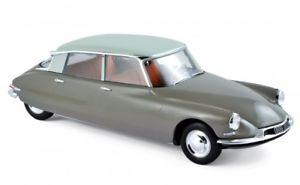 【送料無料】模型車 モデルカー スポーツカー シトロエンブラウンモデルカーnorev 181481 citron ds 19 1959 braunweiss 118 modellauto