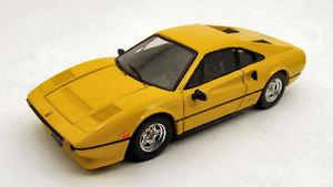 【送料無料】模型車 モデルカー スポーツカー フェラーリイエローモデルモデルferrari 308 gtb qv 1982 yellow 143 model best models