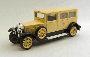 【送料無料】模型車 モデルカー スポーツカー フィアットクローチェロッサイタリアモデルリオfiat 519s ambulance 1930 croce rossa italiana 143 model rio