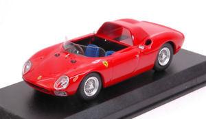 【送料無料】模型車 モデルカー スポーツカー フェラーリスパイダーモデルモデルferrari 250 lm spyder 1965 prova red 143 model best models