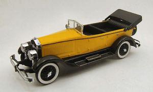 【送料無料】模型車 モデルカー スポーツカー モデルリオisotta fraschini 8a 1924 yellow 143 model rio
