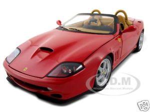 【送料無料】模型車 モデルカー スポーツカー エリートバルケッタピニンファリーナフェラーリレッドモデルカーelite ferrari 550 barchetta pininfarina red 118 model car by hotwheels n2054