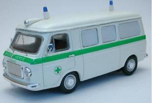 【送料無料】模型車 モデルカー スポーツカー フィアットランザクローチェヴェルデルガノモデルリオfiat 238 ambulanza croce verde lugano 143 model rio