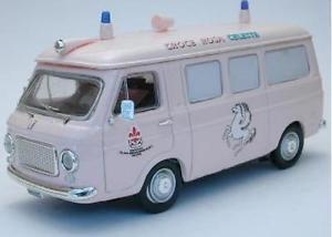【送料無料】模型車 モデルカー スポーツカー フィアットランザクローチェローザリオセレステモデルfiat 238 ambulanza croce rosa celeste 143 model rio