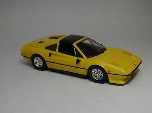【送料無料】模型車 モデルカー スポーツカー フェラーリイエローモデルモデルferrari 308 gts 1977 yellow 143 model best models