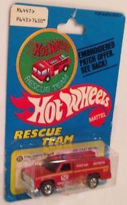 【送料無料】模型車 モデルカー スポーツカー ホットホイールチームパッチカードmoc 1978 hot wheels rescue team patch card red emergency squad ambulance