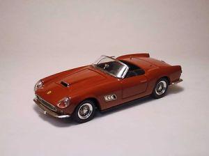 【送料無料】模型車 モデルカー スポーツカー フェラーリカリフォルニアレッドモデルアートモデルferrari 250 california 1958 red 143 model 0077 artmodel
