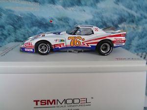 【送料無料】模型車 モデルカー スポーツカー シボレーコルベットルマン143 truescale miniatures tsm chevrolet corvette le mans 24h 1976